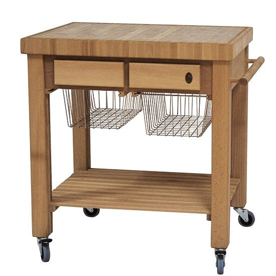 Kitchen Block On Wheels Drop Leaf Table And Chairs Drawing Of Get Practical Movable Carts With Butcher Blocks