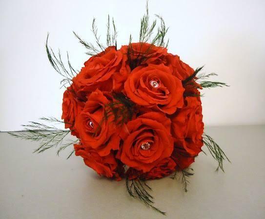 Bouquet MARIEE roses naturelles stabilisées éternelles LUXE couleur au choix www.artifleurs-fleurs-artificielles.com
