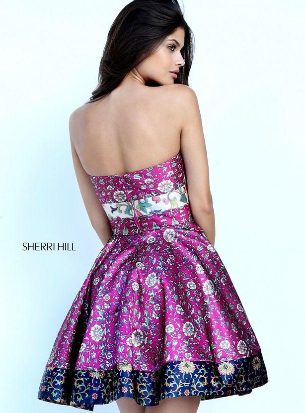 50794 - SHERRI HILL   moda   Pinterest   Vestidos bonitos, Estampado ...