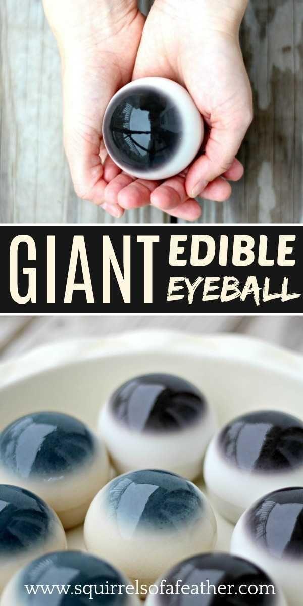 Halloween Eyeballs: Giant Edible Cow Eyeball Recipe