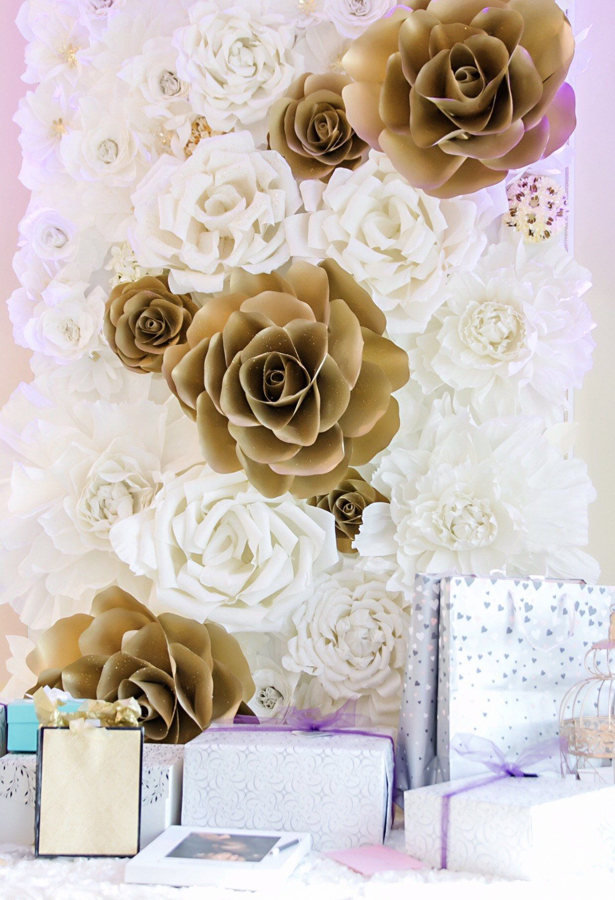 4x8 Paper Flower Backdrop Giant Paper Flowers Wall Paper Flower