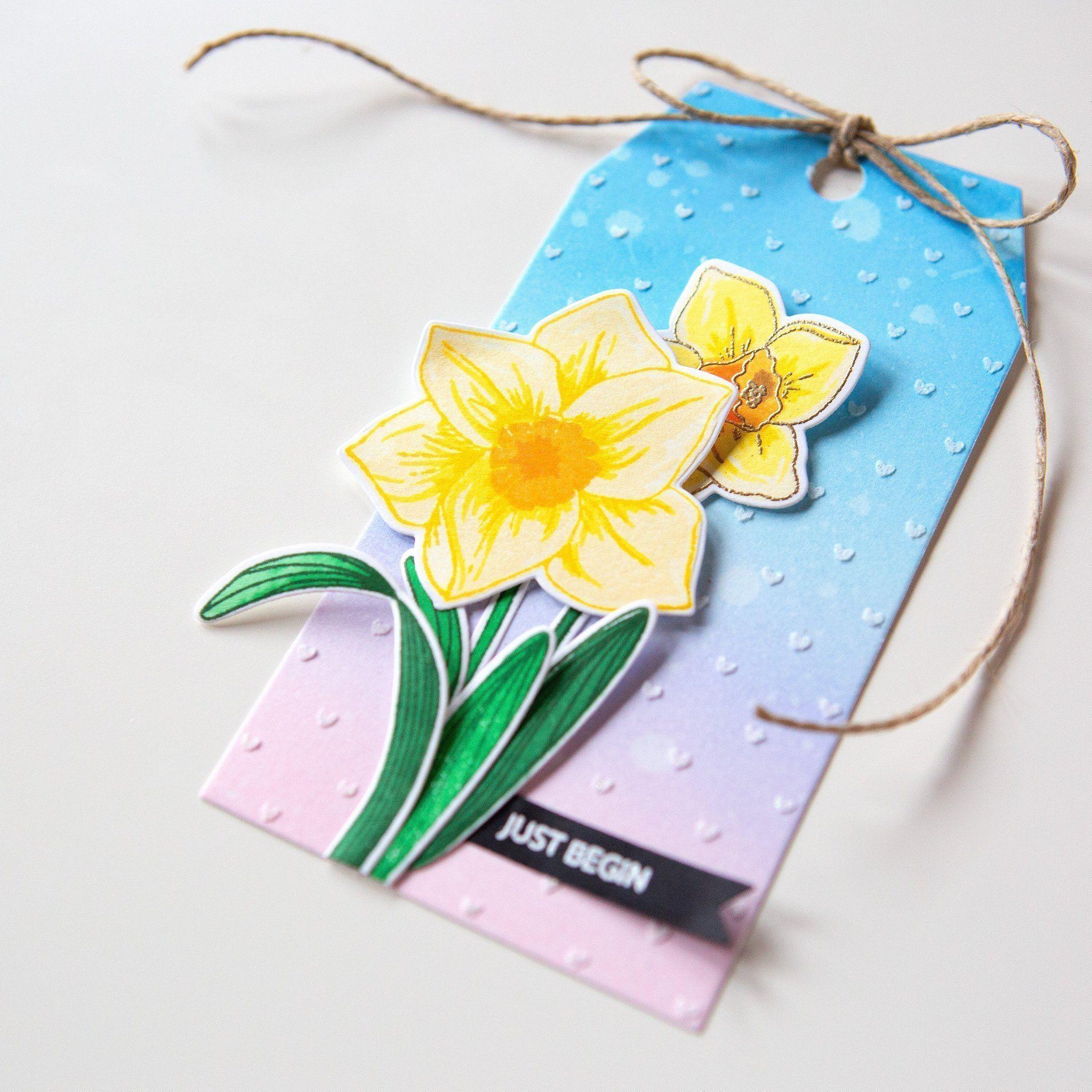 The 20 Year Wedding March: Daffodils, Anniversary Flowers