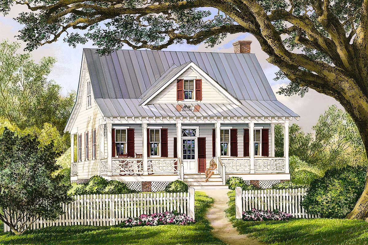Plan 32422wp Porches Front And Back Farmhouse Style House Plans Country Style House Plans Country Farmhouse House Plans