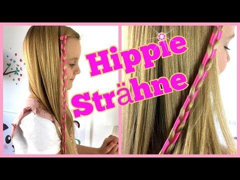 Festliche Hippie Haarsträhne Super Einfach Schnell Frisur Für