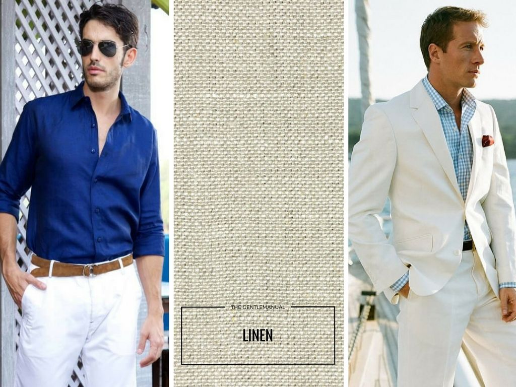 Stay Cool Five Fabulous Fabrics For Hot Weather Mens Fashion