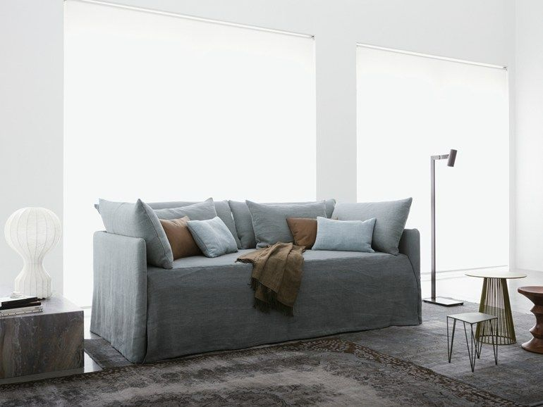 Super Fabric Bed Day Bed Duetto Flou Ffe Beds Sofa Beutiful Home Inspiration Papxelindsey Bellcom