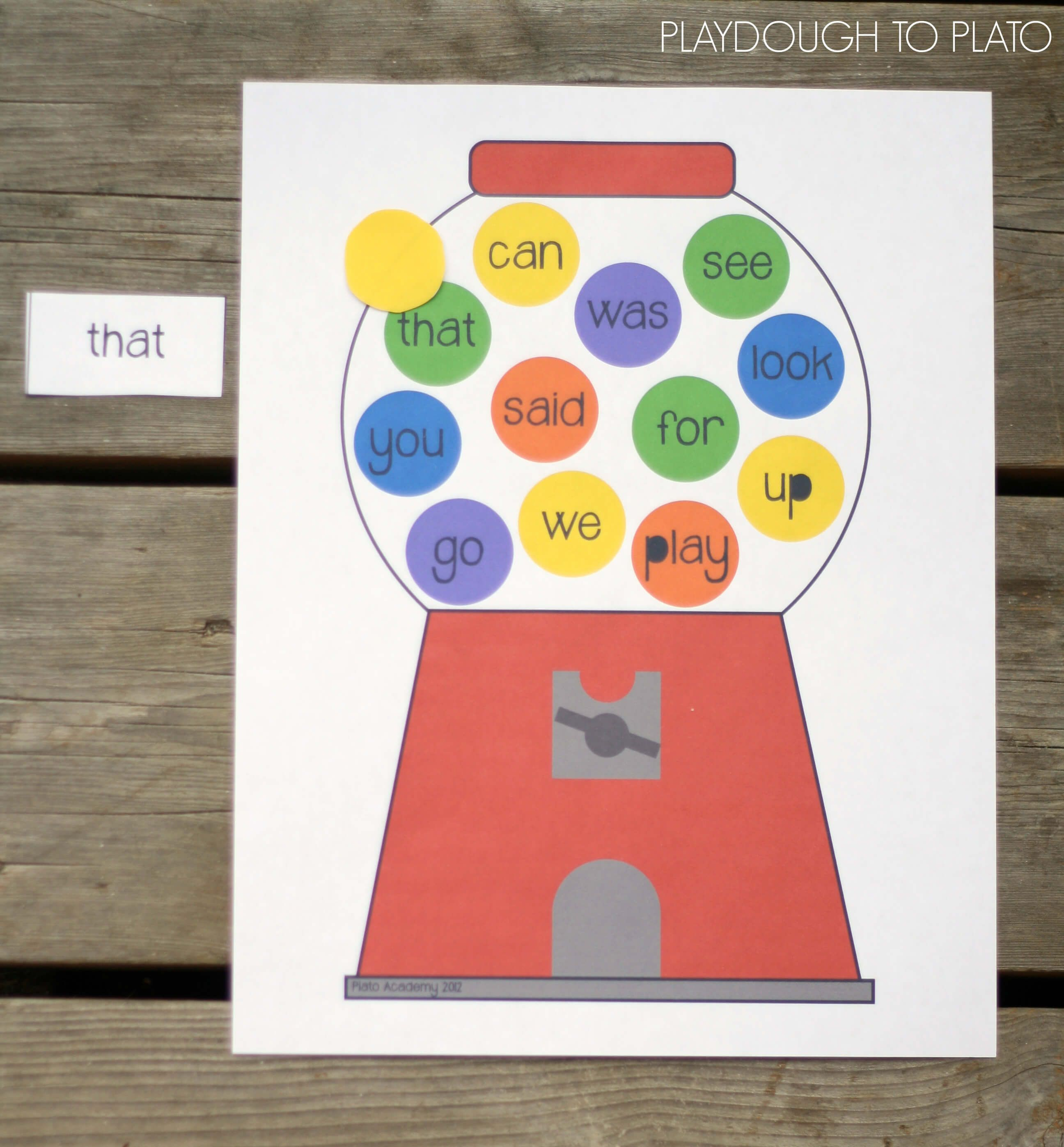 20 Free Sight Words Printables