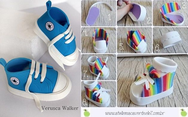 Sneakers Pinterest Design Cake Tutorials Fiocchi Photo Adriano qRvxfS