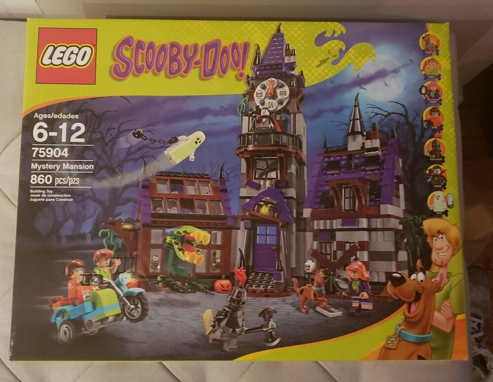 Box Mystery Nice Scooby New Mansion 75904 Retired Sealed Doo Lego 0y8OvmwnN