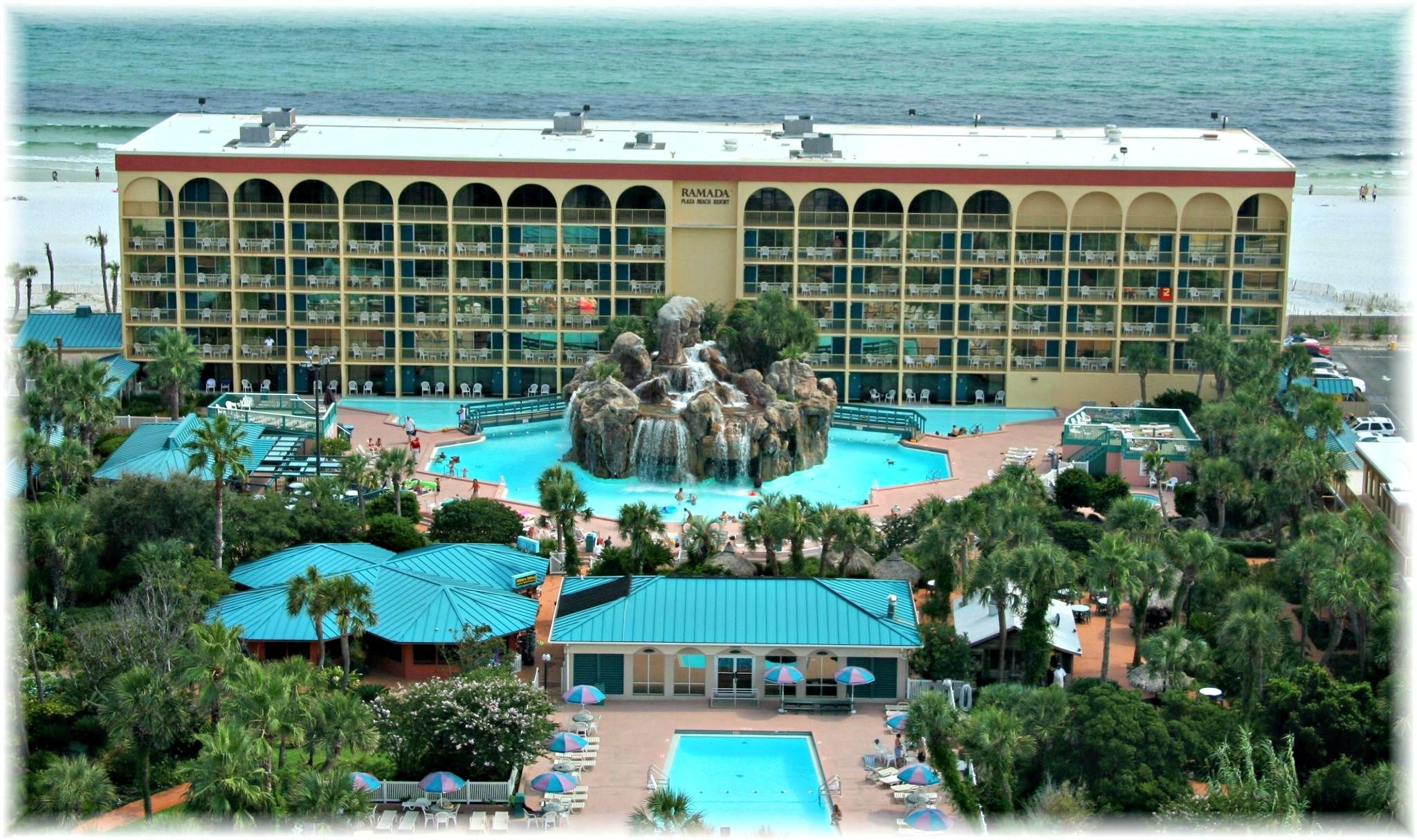 Ramada Plaza Beach Resort Hotels In Destin Florida Fort