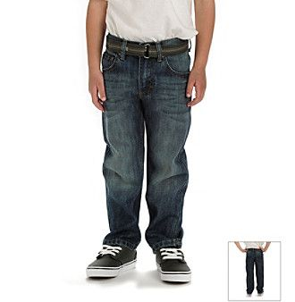 Lee® Boys' 4-7 Jetty Belted Jeans