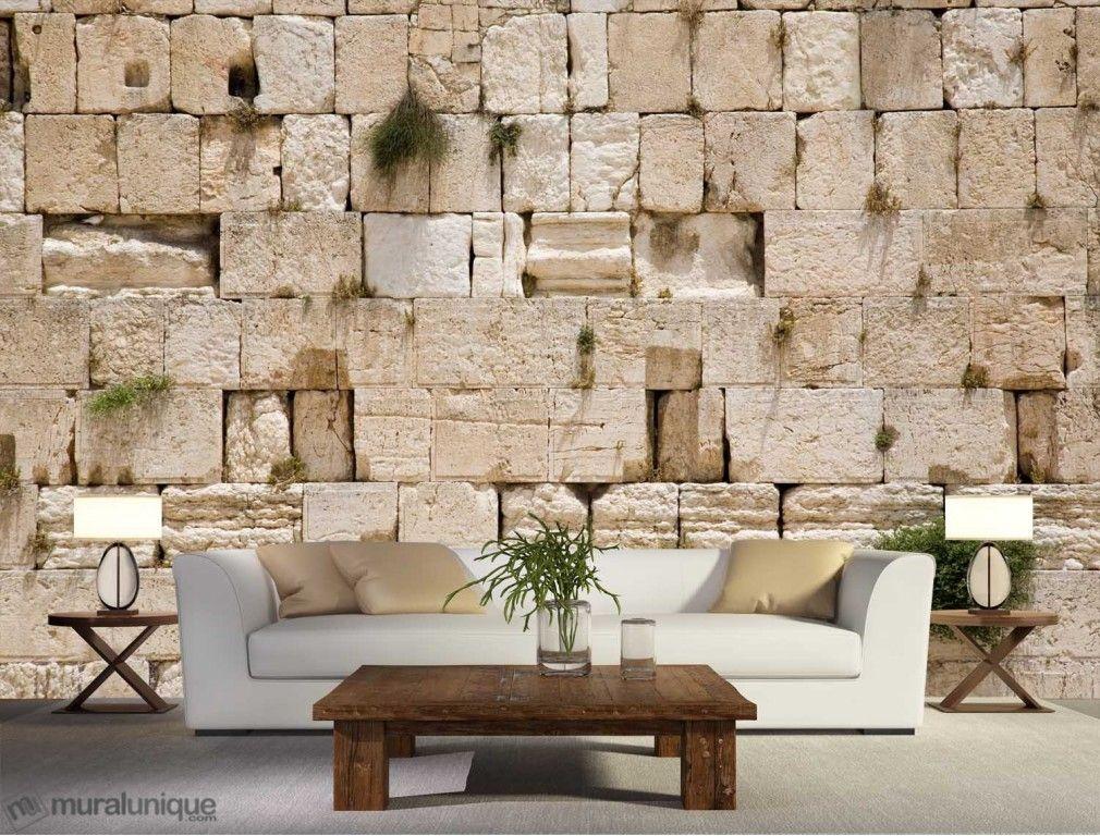 Western Wall Wailing Wall Kotel Jerusalem Limestone Wall Western Wall Mural Wallpaper
