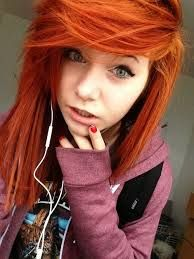 red hair Emo girls tumblr with