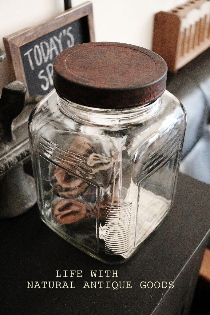 ●セリアの瓶を、アンティーク瓶に*支えて下さってる方々の嬉し過ぎるお気持ちと●|・:*:ナチュラルアンティーク雑貨&家具のお部屋・:*