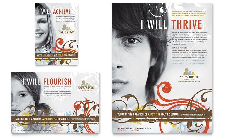 View the flyer and postcard examples below for inspiration - christian flyer templates