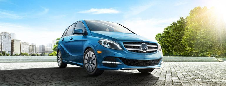 The 2016 Mercedes Benz B Class Electric