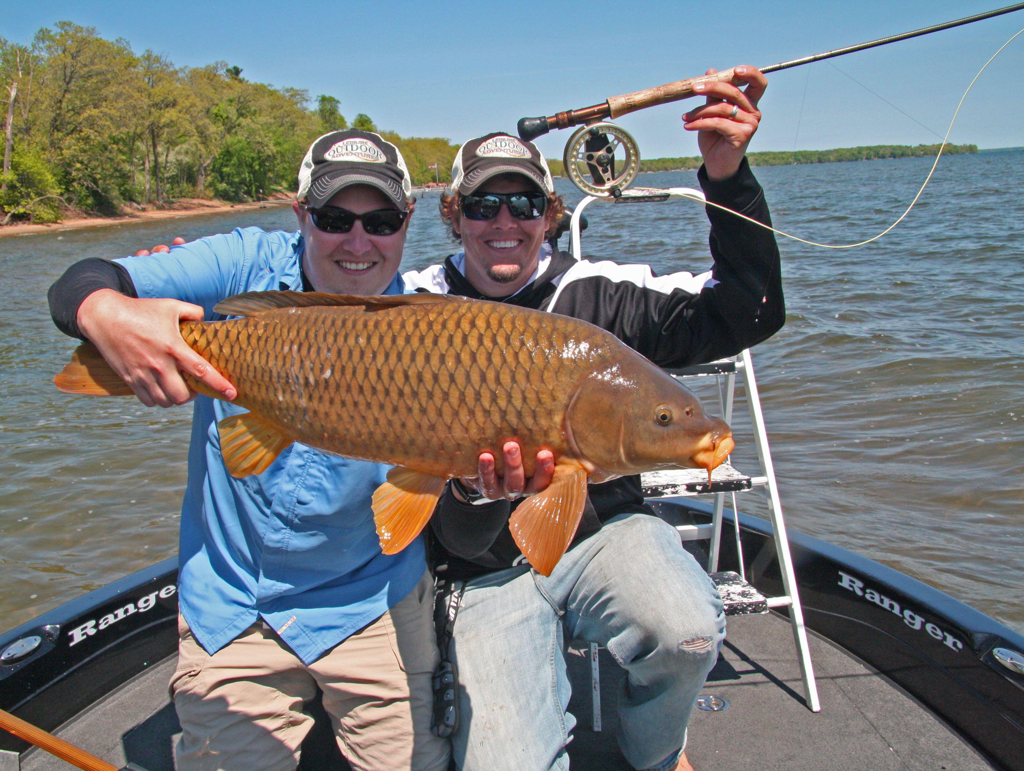 Carp fishing near brainerd mn brainerd minnesota for Fishing in minnesota