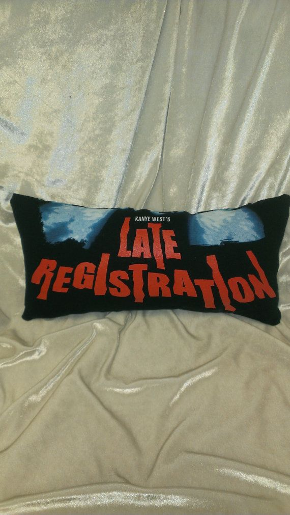 Kanye West Late Registration T Shirt Pillow Etsy T Shirt Kanye West Shirts