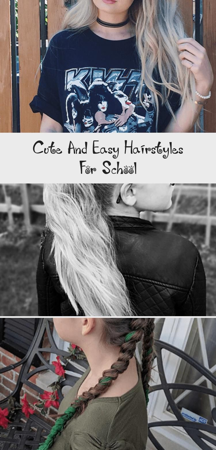 Photo of Cute And Easy Hairstyles For School – Hair Styles