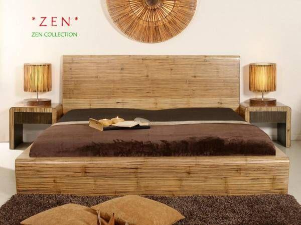 Bambus Bettrahmen Zen Bett Bettrahmen Himmelbetten