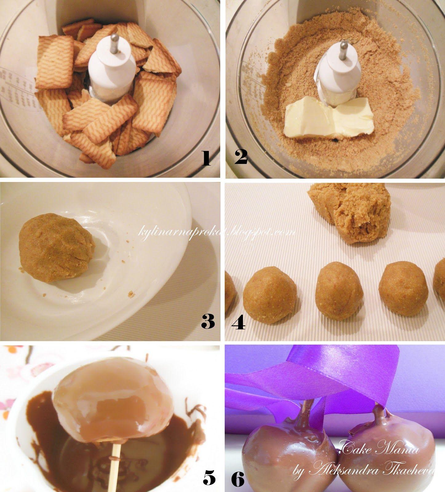 Кейк попсы своими руками рецепт