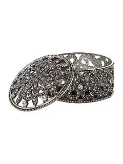 Jewelled trinket box small | Small spaces - Decorative Objects ...