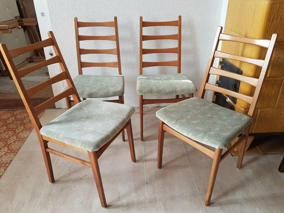 4 Originale Stuhle Aus Der Hellerau Aera Der 60er Jahre Ddr Sitzhohe 0 47 M Preis Fur Alle 4 Stuhle Zusammen Inkl Lieferung Innerh Stuhle 60er Sitzen