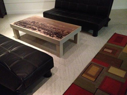How To Use a Laser Printer to Transpose Photos Onto Furniture