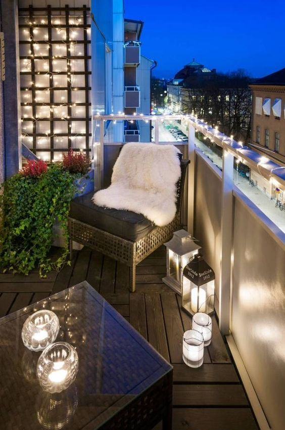 Der Balkon \u2013 unser kleines Wohnzimmer im Sommer Balconies