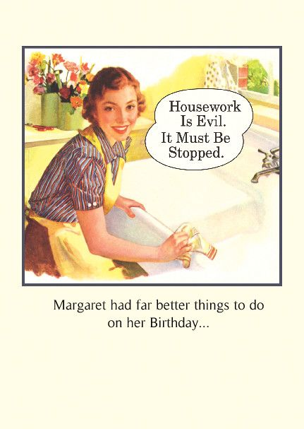 Funny Vintage Birthday Cards