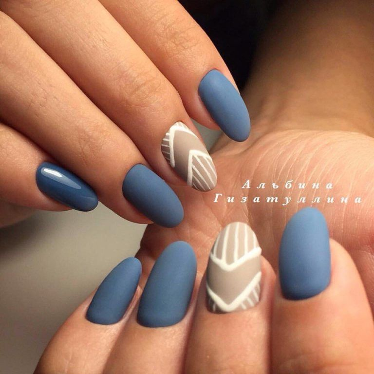 Nail Art #2291 - Best Nail Art Designs Gallery | Brown nail, Matte ...