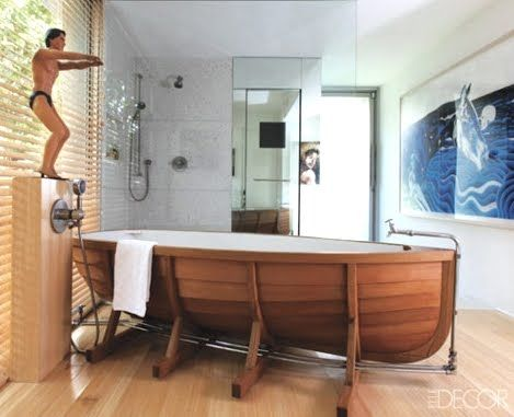 Bathtub Ideas Boat Bathtubs Tubs With Stencils Painted And More