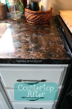 Updating Rv Counters With Giani Granite Countertop Paint Painting Countertops Giani Granite Countertops