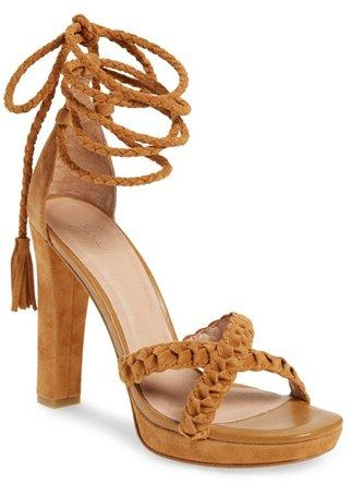 strappy heel sandals are perfect for any event! Joie 'Flo