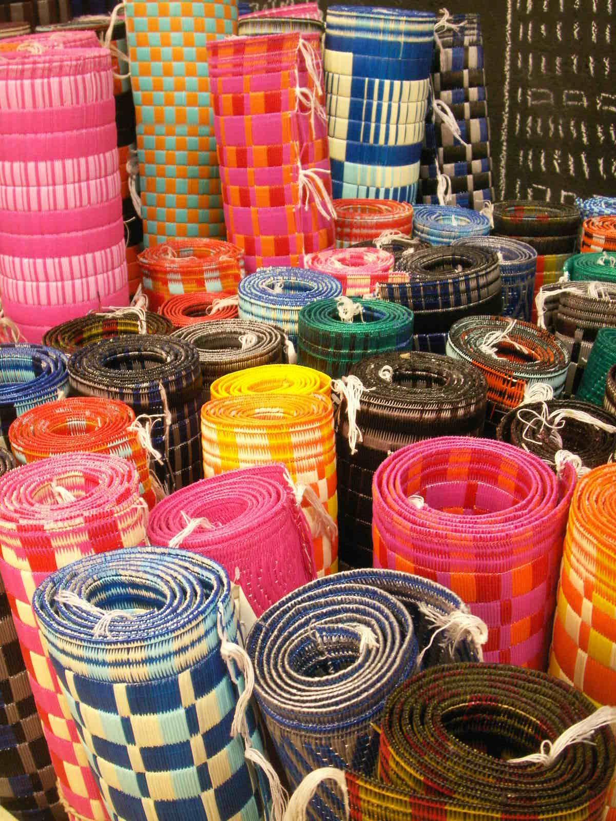 plastic rugs tapis plastique natte