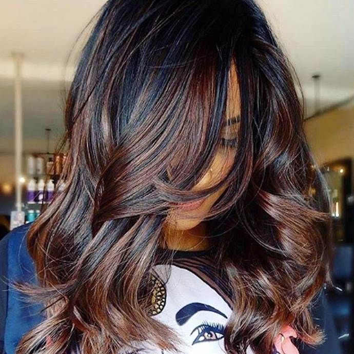 Dark Hair Color Trends 2019: Summer Hair Colour Trends For 2019