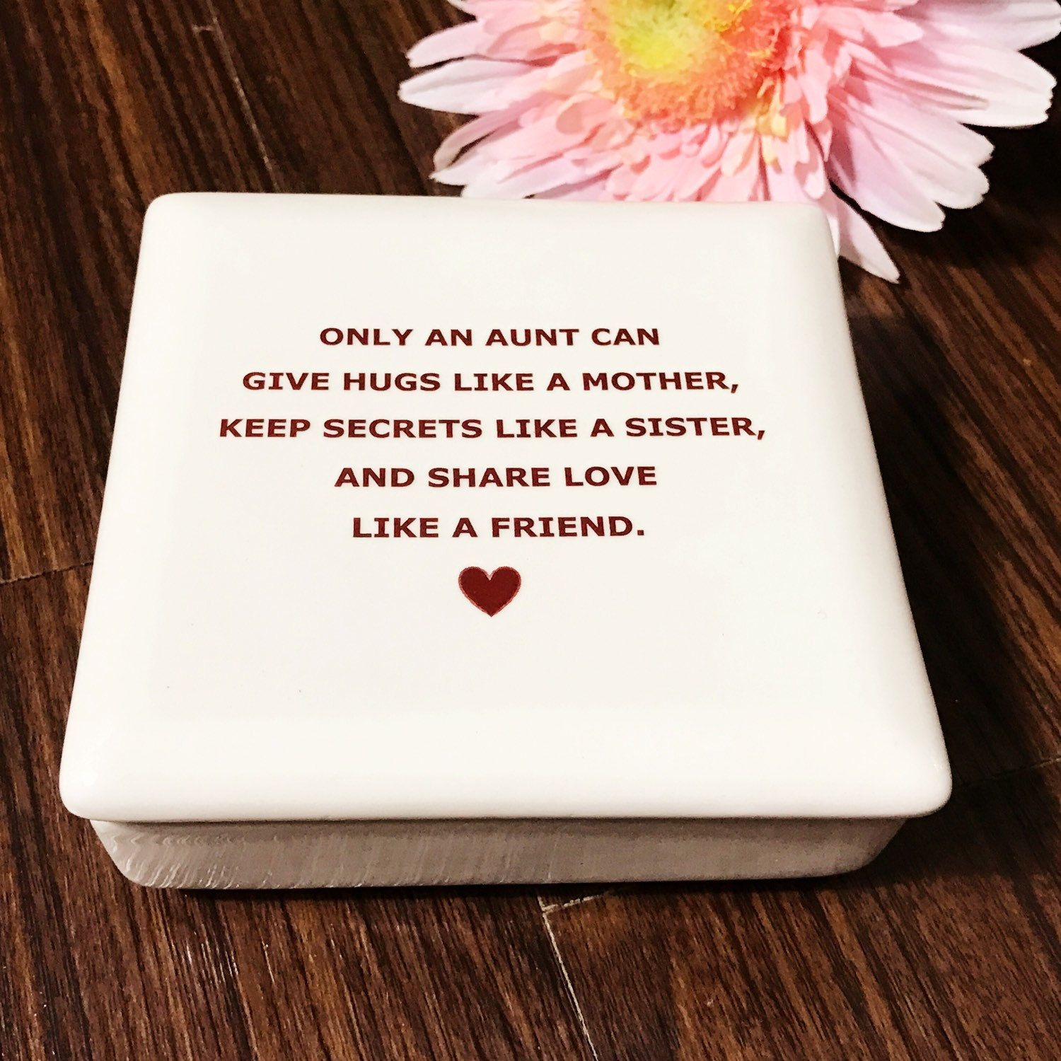 Best gifts for aunts keepsake box giftsforaunts