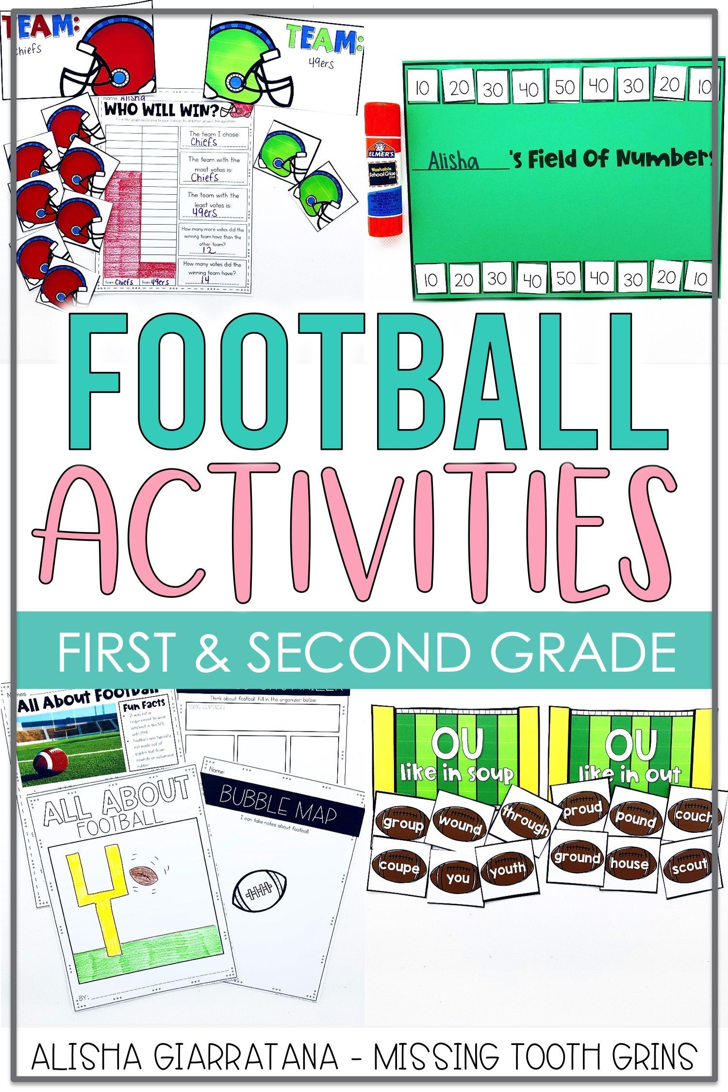 Football Themed Activities In