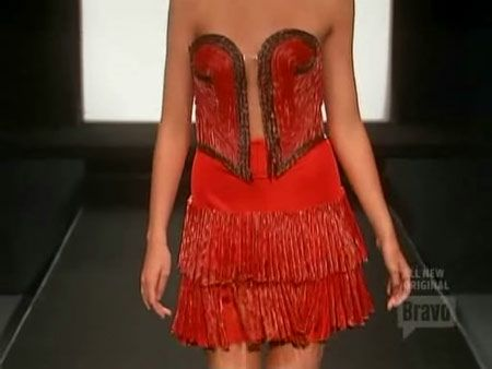 twizzler dress on jillian on project runway fashion dresses women twizzler dress on jillian on project