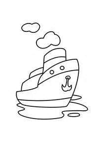 Boats And Ships Coloring Pages Sketch Template Coloring Pages