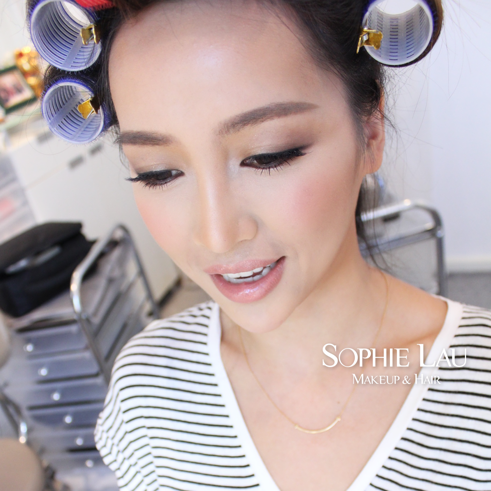 Sophie Lau Makeup and Hair | Asian bridal makeup | Pinterest