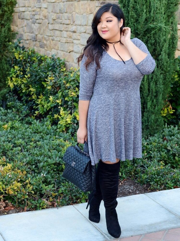 Curvy Girl Chic Plus Size Fashion Blog How to Style Wide ...