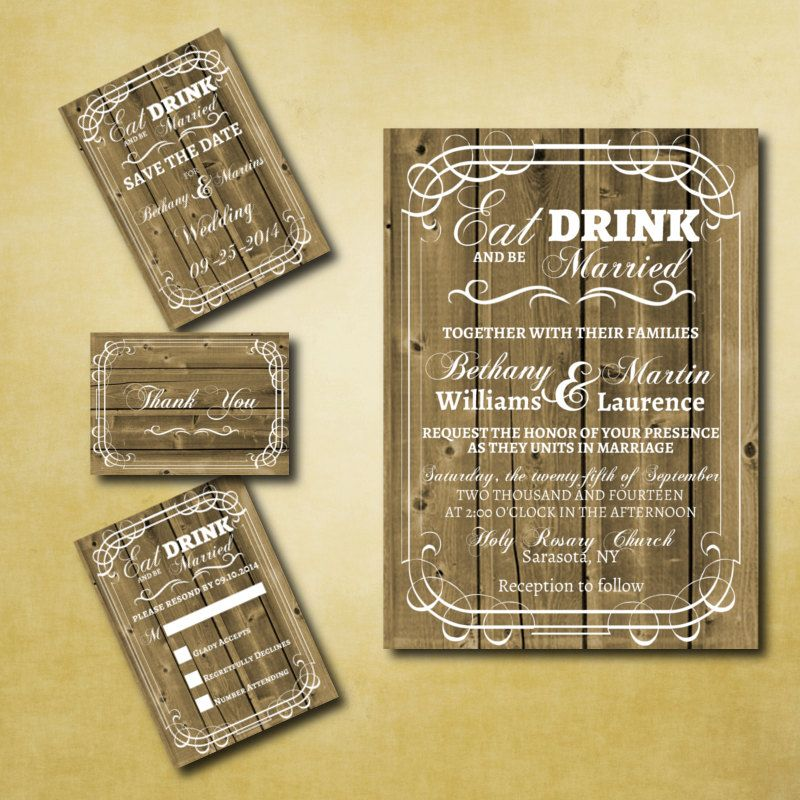 17 Best images about Invitations – Free Western Wedding Invitation Templates