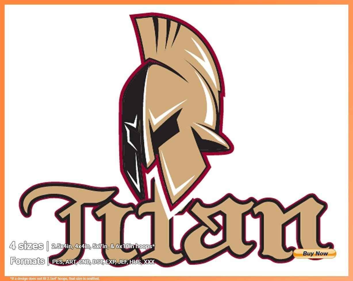 Acadie Bathurst Titan Hockey Sports Embroidery Logo In 4 Sizes Spln000028 Sports Logos Embroidery Vector For Nfl Nba Nhl Mlb Milb And More Hockey Logos Sport Hockey Embroidery Logo