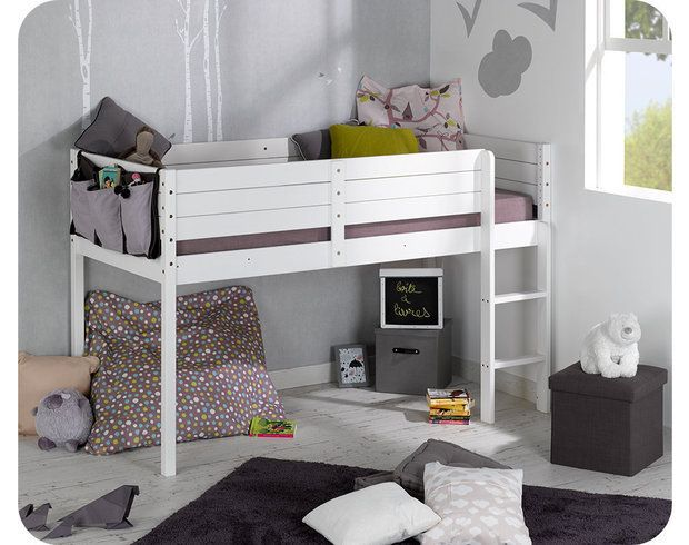 Paraiso Mid Sleeper Bed and mattress set - white | Home inspiration ...