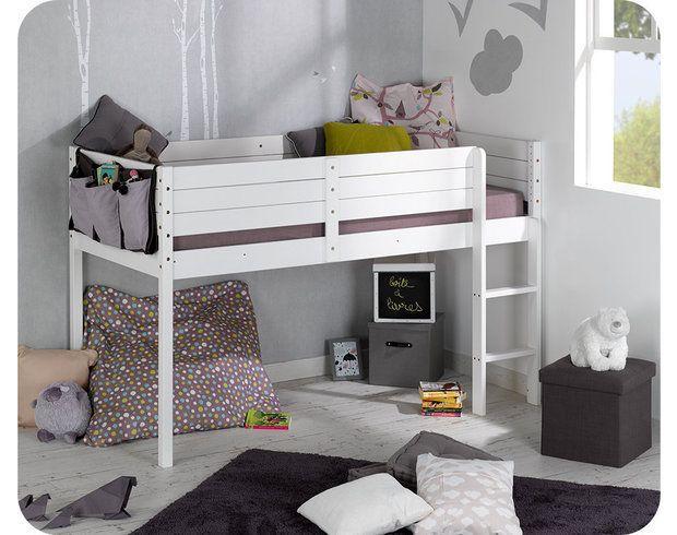 Paraiso Mid Sleeper Bed And Mattress Set