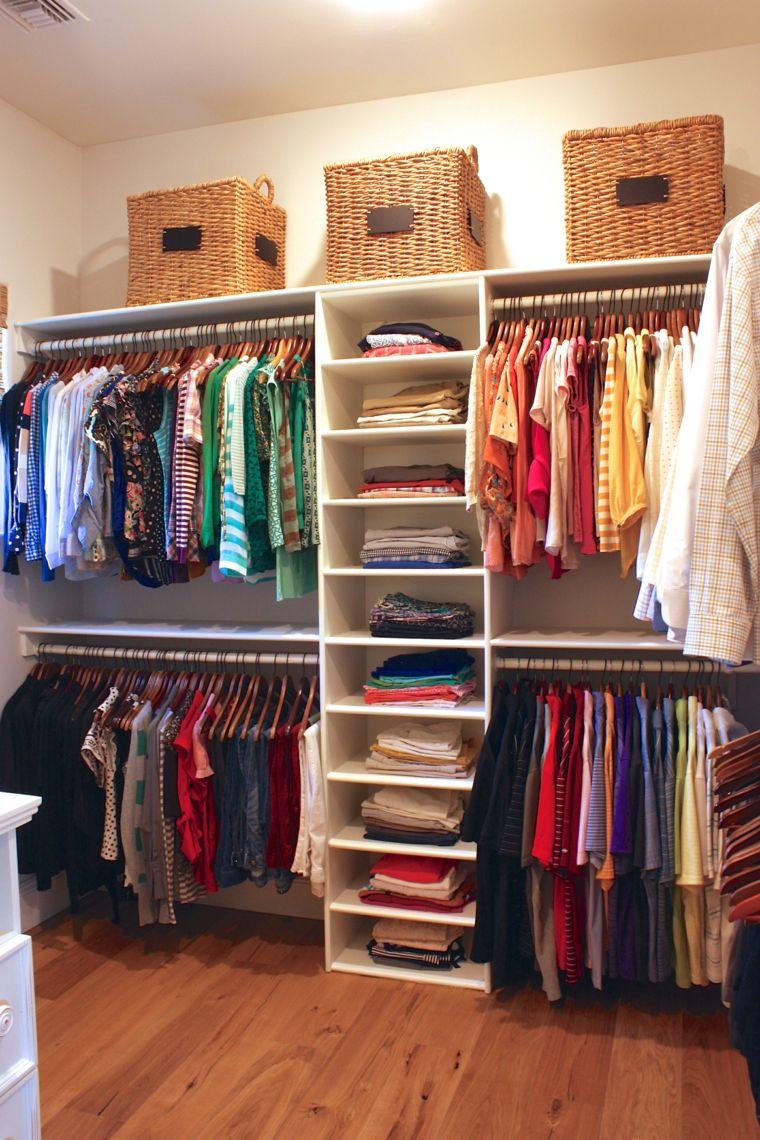 Como organizar un armario 50 ideas tiles y pr cticas for Decoracion closet en madera