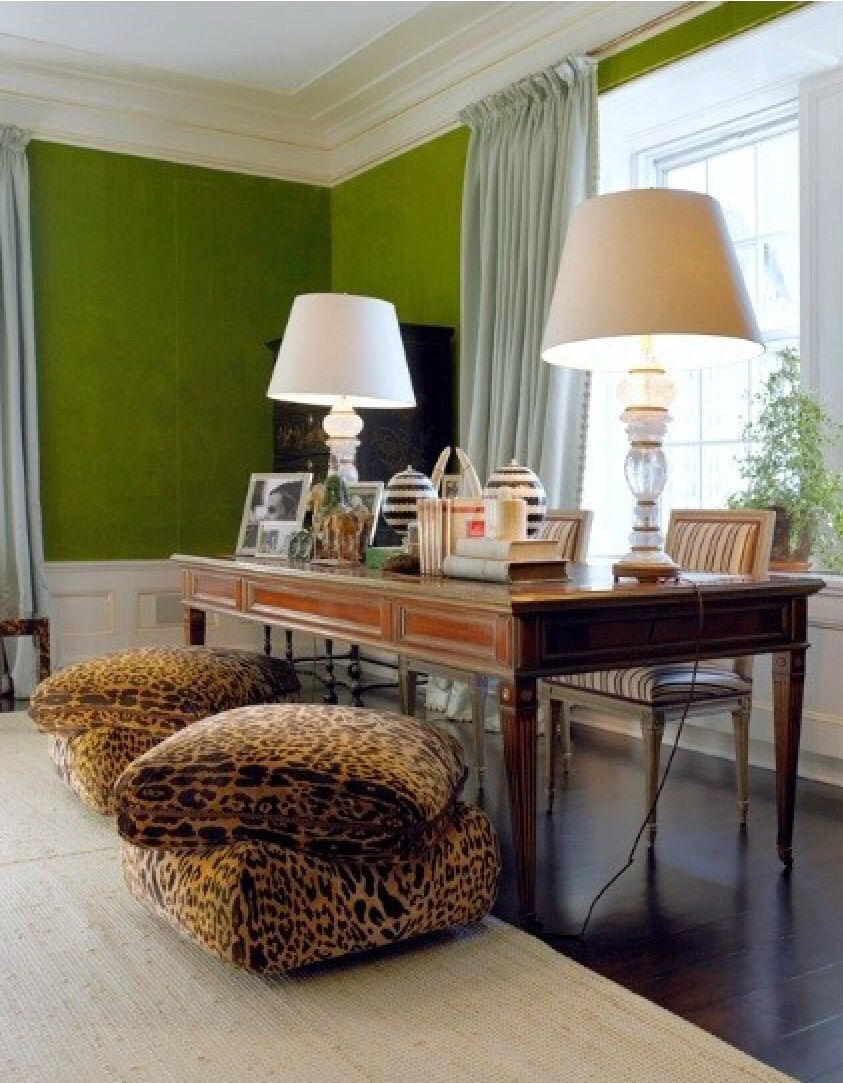 Love These Ottomans Interior Home Decor Home #tory #burch #living #room