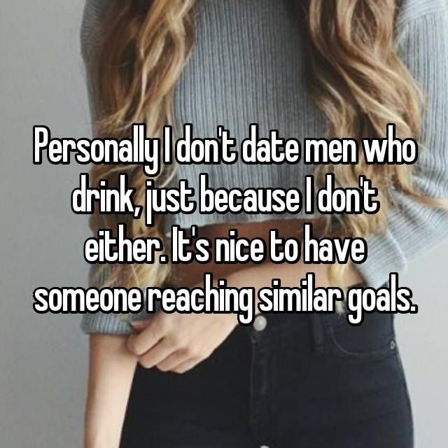 Dating someone who drinks