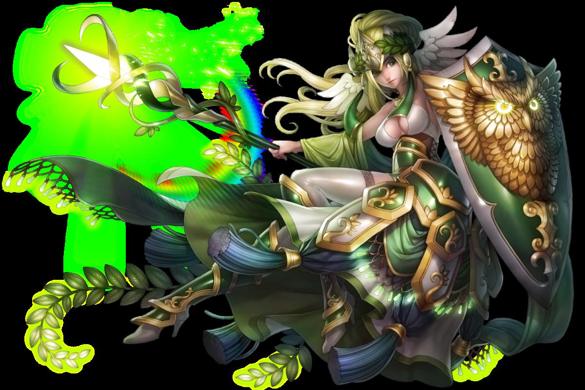 No.1360_戰神自傲 ‧ 雅典娜Goddess of Haughtiness - Athena#神魔之塔 #神魔_希臘神煉化